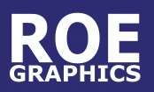 Roe Graphics website design and digital marketing
