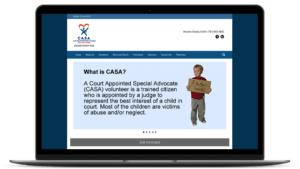 website design for local nonprofit