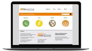 mobile website design for agricultural field guide