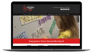 website design for nonprofit - West TN Hearing & Speech Center