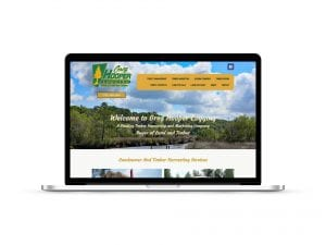 web design seo for timber company